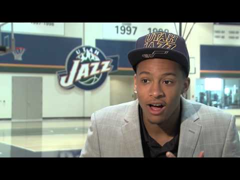 Trey Burke drafted by the Utah Jazz