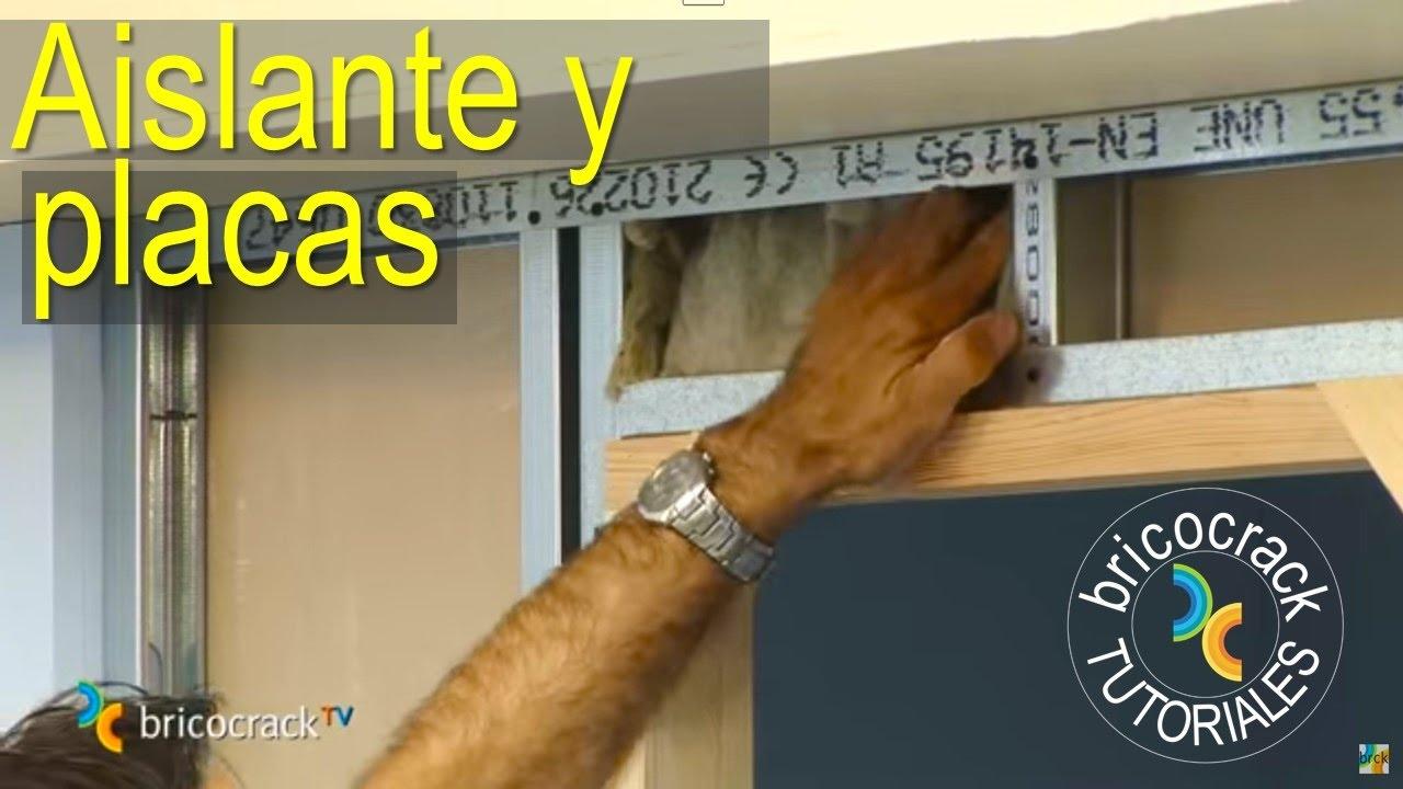 instalar placas pladur: