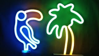 Poundland LED neon-style toucan teardown.  (It's very well made.)