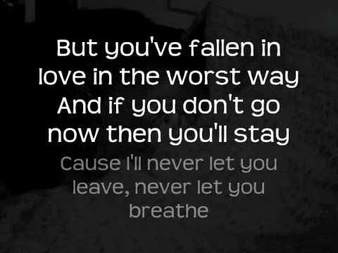 The Script - Walk Away with Lyrics