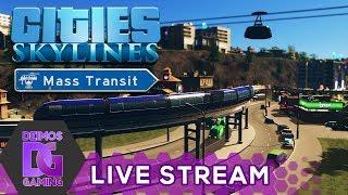 [Z] Cities Skylines - DLC Mass Transit #22   STREAM od 18:30 CZ/SK (3.10.2017) [1080p]