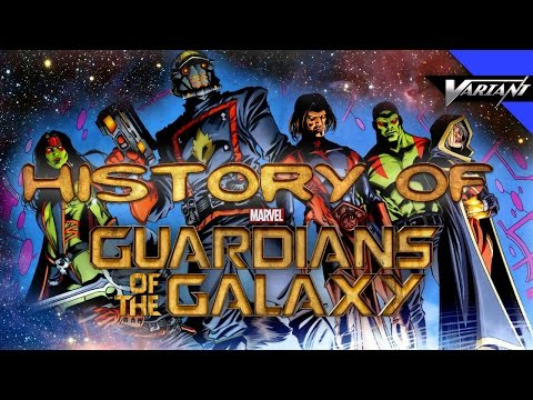 History Of The Guardians Of The Galaxy!