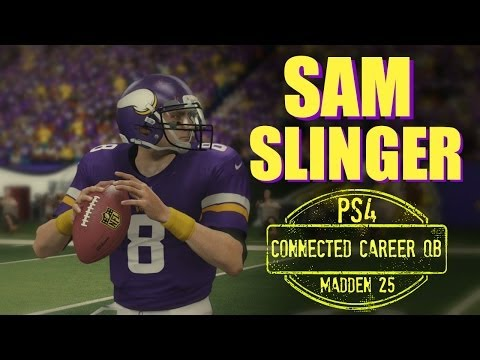 Madden 25 (PS4): Sam Slinger Connected Career (QB) - EP1 (Week 1 vs