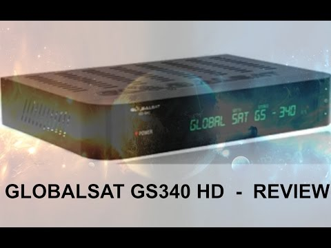 GLOBALSAT GS340 HD  -  REVIEW