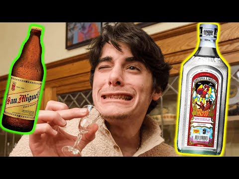 American Family Tries the STRONGEST Filipino Alcohols?!