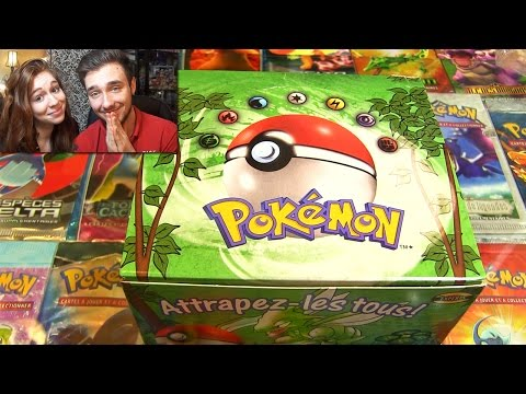 # 500 000 Abonnés # Ouverture d'un Display Pokémon JUNGLE de 1999 ! MON ENFANCE !!