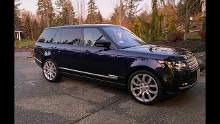 2017 Range Rover LWB SC V8 - pick up and drive from California to Washington
