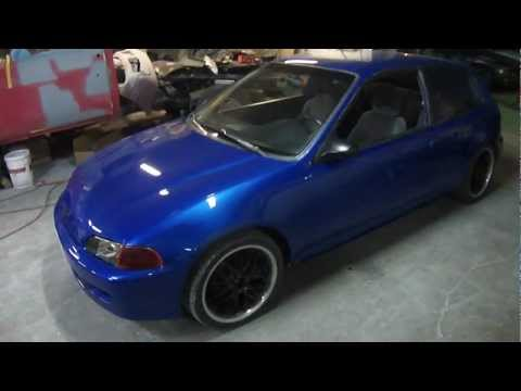 1994 HONDA CIVIC HATCHBACK / JOHNS RESTORATION