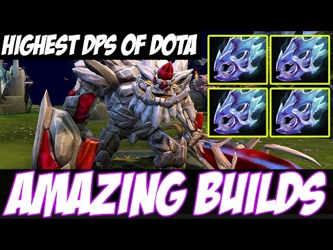 HIGHEST DPS OF DOTA ? - Amazing Builds vol 30 - Tiny with 4 Moon Shard - Dota 2