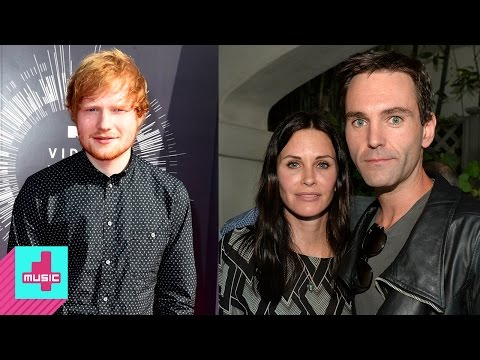 Ed Sheeran - an usher at Courteney Cox's wedding? | #YouNews
