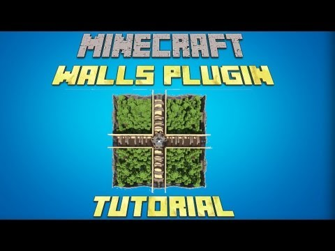 How to install the walls on your Minecraft server! 1.7.9