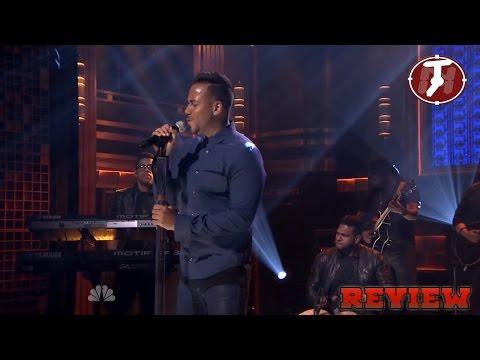 Romeo santos Eres mia performance The Tonight Show Jimmy Fallon 11 20 2014