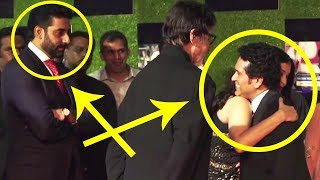 Abhishek Bachchan Angry Reaction When Aishwarya Hugs Sachin Tendulkar | Full Video | BMF