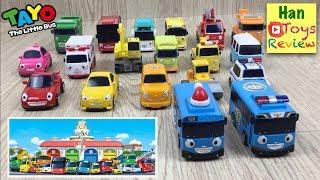 꼬마버스 타요 친구들 Tayo the Little Bus Wheels On The Bus Toys мультфильмы про машинки Игрушки