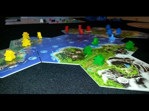Off The Shelf Board Game Reviews Presents - Archipelago (Part 2 Sample Gameplay)
