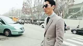 張亮 Zhang Liang X MEN's UNO China all recorders Fashion Film March 2014