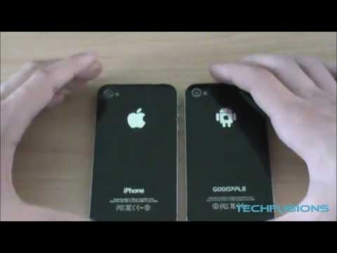 Gooapple 3G VS iPhone 4 - Part 1