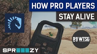 How Pro Players STAY ALIVE as Long as Possible | PUBG Analysis
