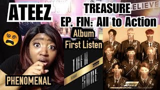 ATEEZ - Treasure EP. FIN: All to Action  Reaction | Full Album FIRST LISTEN