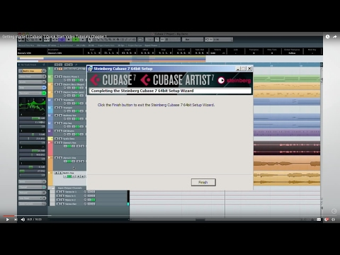 Cubase 7 Quick Start Video Tutorials: Chapter 1: Getting started