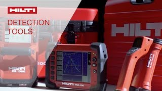 Hilti PS 1000 and PS 250 Detection Systems