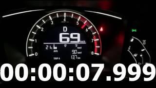 Honda Civic acceleration 0-100 1.8cc, 140 hp 2018