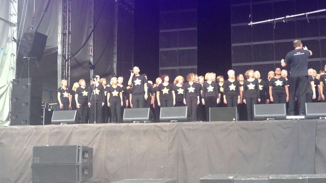 Rock And Vida 2014 Rock Choir Guilfest 2014 Viva