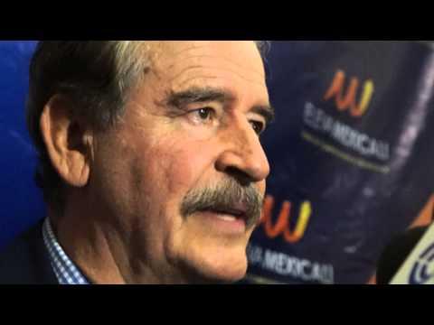 Eleva Mexicali 2014 - Vicente Fox - Entrevistas (1) - 4toscuro