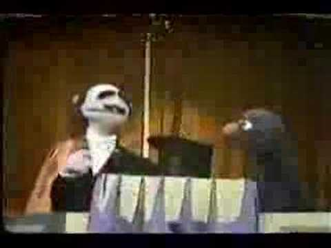 Sesame Street - Mumford's rhyming trick Video