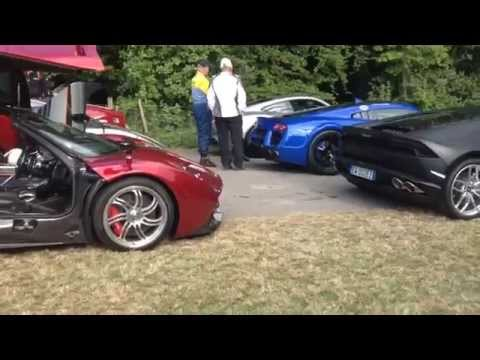 Supercar Traffic Jam: Goodwood Festival of Speed