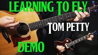 "how to play ""Learning To Fly"" on guitar by Tom Petty 