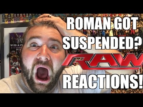 WWE RAW REACTIONS: ROMAN GOT SUSPENDED! Full Show Results and Review 6/20/16