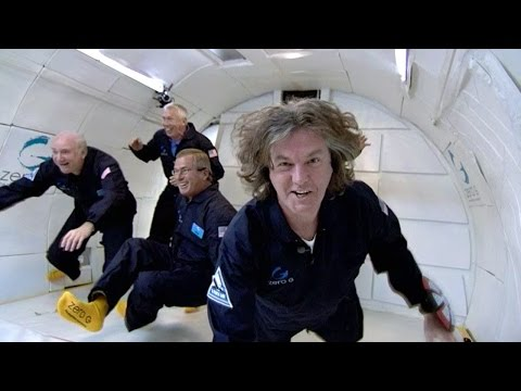 James May Rides The Vomit Comet - Astronaut Training - James May: On The Moon - Brit Lab