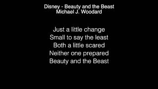 Michael J  Woodard - Beauty and the Beast Lyrics ( Disney ) American Idol