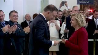 Prezydent Andrzej Duda wręczył nominacje profesorskie