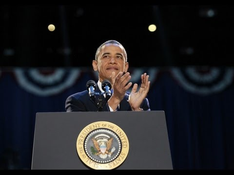 President Obama Re-Elected for Second Term