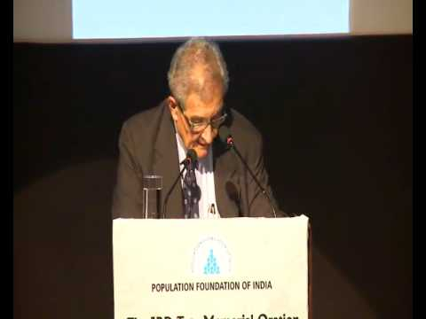 JRD Tata Memorial Oration -- Population Foundation of India (PFI)