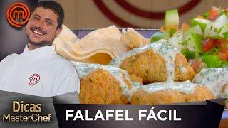 FALAFEL FÁCIL com Raul Lemos   DICAS MASTERCHEF