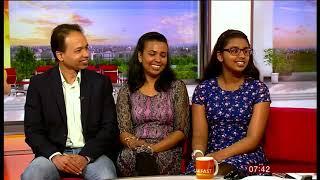 Nishi on BBC 1 Breakfast show