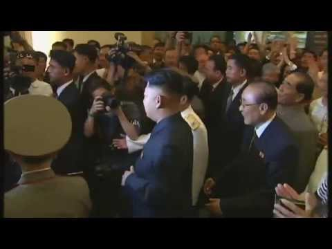 Inside North Korea: Channel 4 News questions Kim Jong-un
