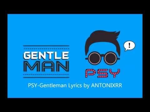 PSY-Gentleman (Lyrics Korean Version) HD