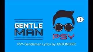 PSY-Gentleman (Lyrics Korean Version) HD