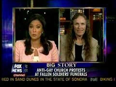 Shirley Phelps-Roper on Fox News