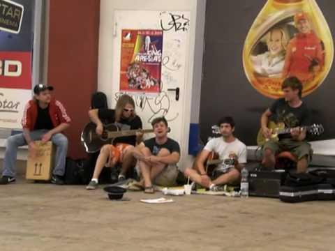 Suboptimal: I'm Yours (Cover) Live @ Alexanderplatz 15.07.09