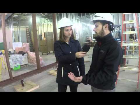 Center For Media Innovation Construction - Raw Footage (Week 7)