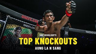 Aung La N Sang's Top Knockouts | ONE Highlights