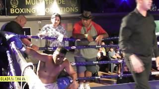 Fight 7 - George Hola vs Andrew Leuii - Multitrade Promotions - Auckland 02Dec17