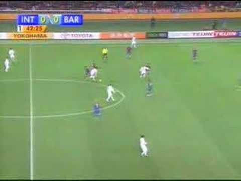 Chapéu do Fernandão - Inter x Barça