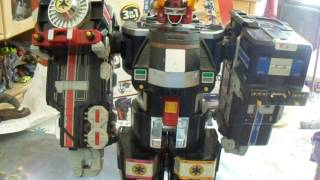 Power Rangers Lightspeed Rescue Super Train Megazord Review Teil 2 Review (German/Deutsch)