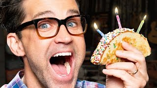 Birthday Cake Taco Taste Test